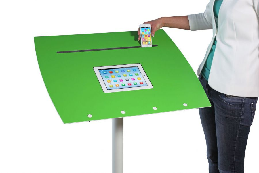 Officeplus Tablet Rolls mit Tablet Rille